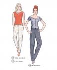 301-06 Top Pants pattern
