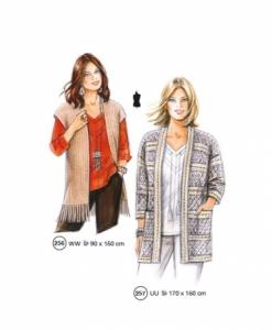 302-07 classic jacket pattern vest