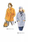 307-10 coat full figure pattern
