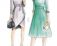 307-11 dress for work pattern