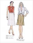 316- shirt & skirt
