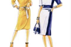 316- skirt & blouse