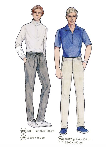 318 MENS' PATTERNS
