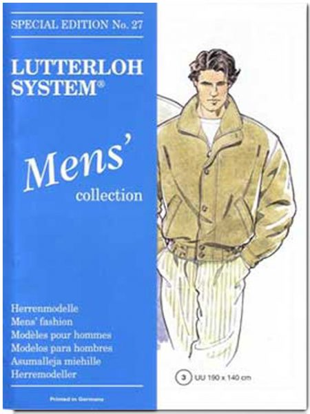 lutterloh sewing pattern men edition