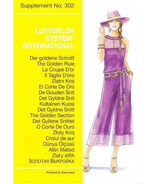 302-supplement-lutterloh sewing pattens