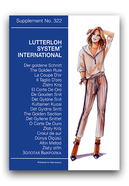 The Golden Rule Lutterloh System Sewing Patterns