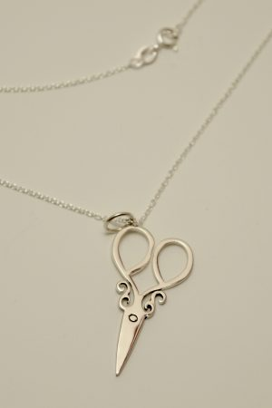 scissors jewelry sew silver