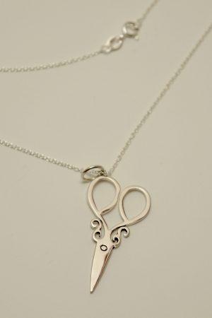 scissors jewelry sew silver