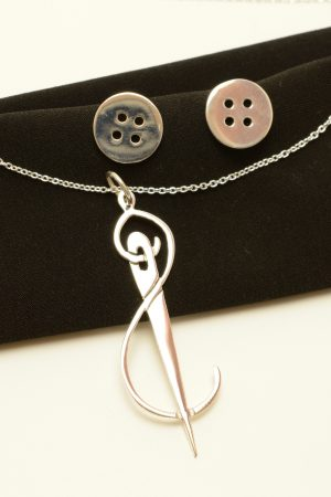 needle jewelry set