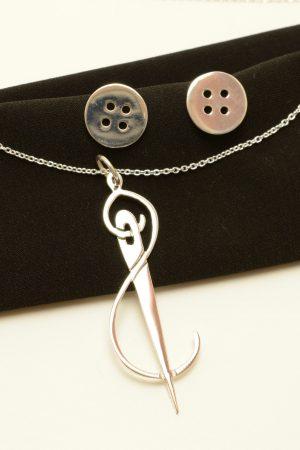 needle jewelry set