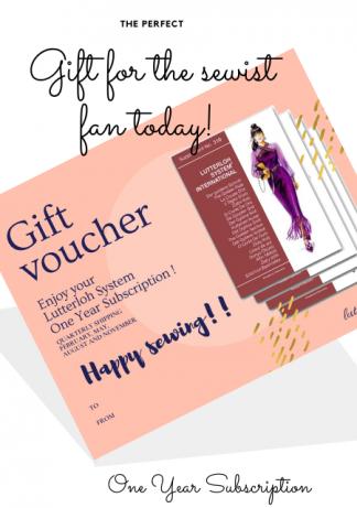 lutterloh gift certificate OY