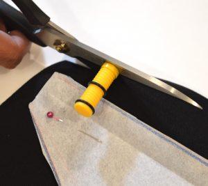 seam allowance guide cutting scissors